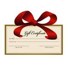 Customized Gift Certificates Crescent Yoga Studio Midlothian Tx Gift Certificates