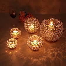 Wedding Tea Light Holders In Bulk Gold Crystal Candle Holder Metal Votive Wedding Centerpieces