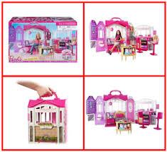 Barbie furniture for dollhouse Diy Dollhouse Image Is Loading Barbiedollhouseglamgetawayfurniturelotbathroom Ebay Barbie Doll House Glam Getaway Furniture Lot Bathroom Kitchen