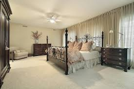 dark bedroom furniture. This Bedroom Is Another Great Example Of Using Light Colors And Utilizing The Stark Contrast Between Dark Furniture O