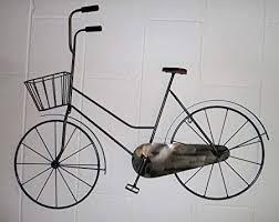 metal bicycle wall art uk