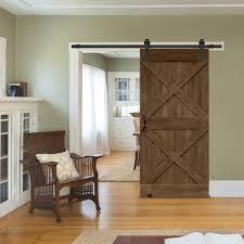 Double X Barn Door