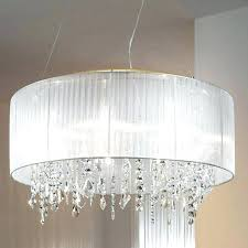 large shade chandeliers examples sensational silver mist hanging crystal drum shade chandelier large lamp shades for