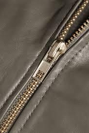 dámské nicole cropped textured leather er jacket armádní zelená w118 by walter baker