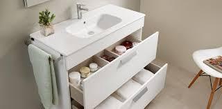 storage in the bathroom roca