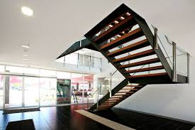 home office jarrett construction. Office Stairs. Wonderful Stairs Steel Staircase In S Home Jarrett Construction O