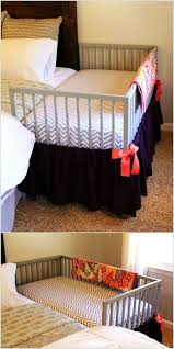 Modify an IKEA Crib for an Easy Peasy and Quick Co-Sleeper Crib