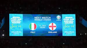 بدء الحرب النفسية بين إنجلترا وإيطاليا قبل نهائي يورو 2020