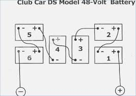 Ezgo Golf Cart Wiring Diagram wiring diagrams 36 and 48 volt battery banks mikes golf carts