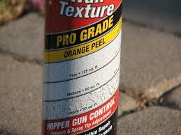 how to spray homax orange l texture