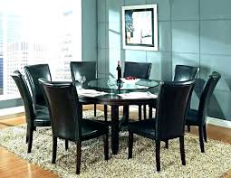 circular dining table sets circle set half round and chairs glass din