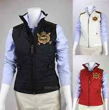 NWT POLO RALPH LAUREN Women Quilted Vest with Special Patch & Calf ... & Image is loading NWT-POLO-RALPH-LAUREN-Women-Quilted-Vest-with- Adamdwight.com