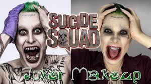 джаред лето джокер макияж Suicide Squad отряд самоубийц Jared Leto Joker Makeup Tutorial