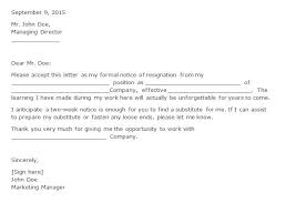 Letter Of Resignation 2 Weeks Notice Template Fascinating Resignation Letter With 28 Weeks Notice Engneeuforicco