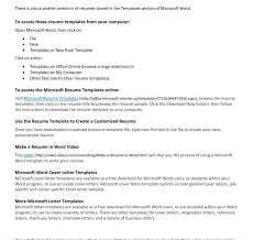 free template for resumes to download free template resume microsoft word pics download downloads