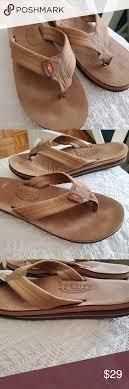 Light Brown Rainbow Sandals Rainbow Sandal Flip Flops Light Brown Tanish Color Rainbow
