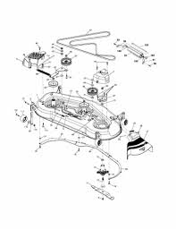 Murray 42 inch riding mower parts diagram