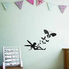 fairy erflies wall art decal for kids