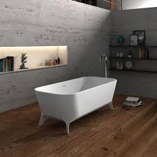 clawfoot bathtub no faucet drillings