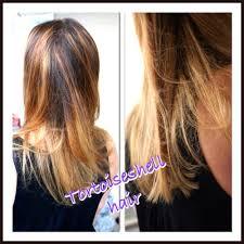 Coloration Ecaille De Tortue Chatain Cuivr Blond Coiffure