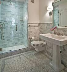 carrara marble bathroom designs. Modren Carrara Source Anne Chessin Designs Website Beautiful Marble Bathroom Design With  White Carrara Carrera Hexagon Tiles Tile Border Whi To Carrara Marble Bathroom