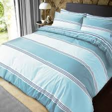 luxury banded stripe teal duvet set reversible quilt cover bedding super king size 262006 p5591 15328 image jpg