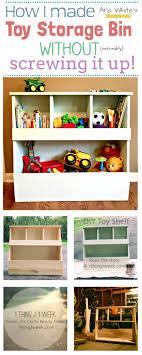Diy Storage Container Ideas Best 25 Toy Storage Bins Ideas On Pinterest Kids Storage