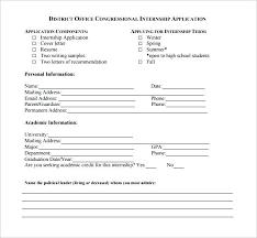 Application Sample For Internship Internship Schedule Template Version A Option 1 Internship Training