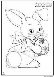 Great Cute Easter Coloring Pages Plus Bunny Coloring Pages Free