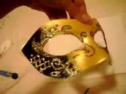 Mask Decoration Ideas Decorating masquerade mask DIY YouTube 22