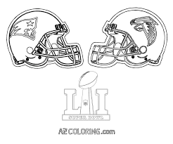 Small Picture Super Bowl 51 Coloring Page Patriots Vs Falcons Coloring Home