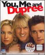 DVD You, Me And Dupree ฉัน, เธอ และเกลอแสบนายดูพรี กำกับโดย Anthony Russo Joe Ru. - spd_2011071403517_b