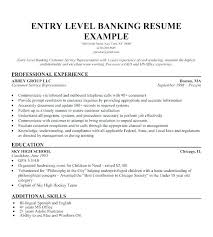 Bankers Skills Resume Investment Banking Resume Objective Bank