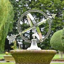 almwick manor solid brass armillary