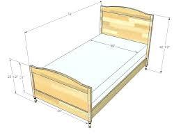 Delightful Width Of Twin Bed Dimension Mattress Frame In Cm