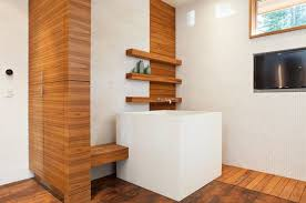 Ofuro Soaking Tubs: The Vibe Of Japan In Your Bathroom  small japanese  soaking tub