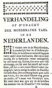 Francization of Brussels   Wikipedia Wikipedia First page of Verlooy     s Dissertation on the disregard of the native language in the Netherlands         regarded as the first work dealing with the language