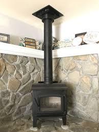 wood fire burning stove cast iron