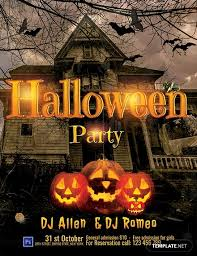 Costume Contest Flyer Template Free Halloween Dj Party Flyer Template Word Psd Apple