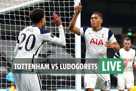 Tottenham 4 Ludogorets 0 LIVE REACTION: Winks nets stunning goal from  56-yards as Spurs cruise to Europa League win