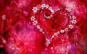 Romantic Love Heart Designs HD Cover ...