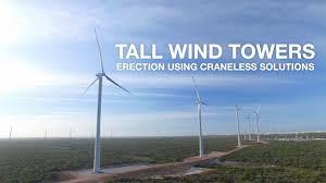 Innovation In Wind Turbine Design Eolift By Freyssinet Major Innovation In Wind Tower Erection
