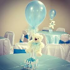 baby shower balloon centerpieces hot air centerpiece diy