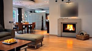 Small Picture Design Wallpaper Warm Fireplace