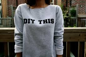 diy sweatshirt word sweatshrt printed sweatshirt iron on sweatshirt