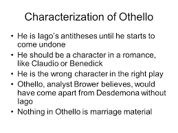 othello dramatis personae duke of venice othello moor married  93 characterization