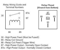 bosch relay 12v 30a wiring diagram wiring diagram relay basics