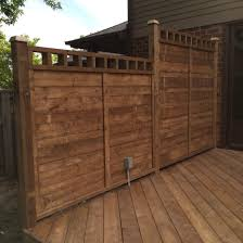 Deck Privacy Wall Designs Pt Deck Privacy Wall With Electrical Outlet New Home Ideas