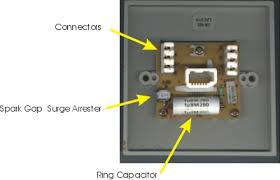 uk telephone wiring master socket