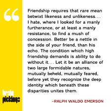 explore emerson s insightful essay on friendship and its emerson s insightful essay on friendship and its two essential conditions is a must